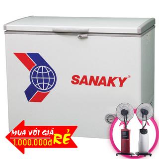 TỦ ĐÔNG SANAKY 210 LÍT VH-255HY2 NHÔM R600A giá sỉ