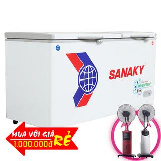 TỦ ĐÔNG MÁT SANAKY INVERTER 400 LÍT VH-5699W3 ĐỒNG R600A giá sỉ