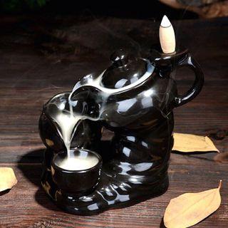thác khói trầm hương ấm trà đen giá sỉ