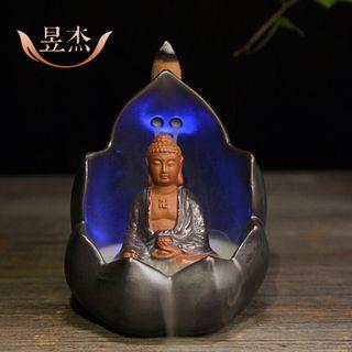 thác khói trầm hương Phật có đèn led giá sỉ