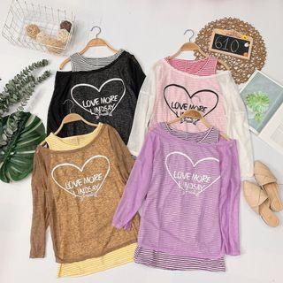 Set áo Áo 3 lỗ áo rớt vai phối màu siêu xinh giá sỉ