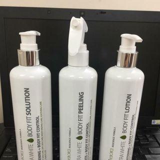 Bộ sản phẩm tắm trắng ultra white- Tắm trắng Rebon cell giá sỉ