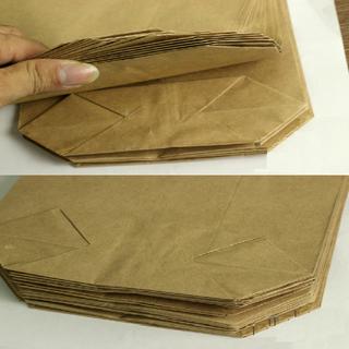 Túi giấy xi măng gói hàng Túi giấy Kraft giá sỉ