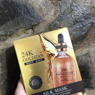 Mask 24k lụa vàng dưỡng ẩm  hộp  10 miếng giá sỉ