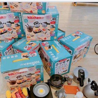 Bộ đồ chơi nấu ăn 36 món giá sỉ