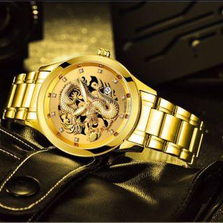 Đồng hồ nam giá sỉ mặt rồng - Cửa hàng đồng hồ mạnh thắng giá sỉ