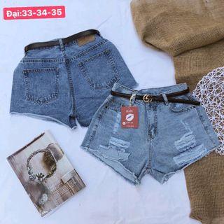 Quần short jean nữ size đại chuyên sỉ jean giá sỉ