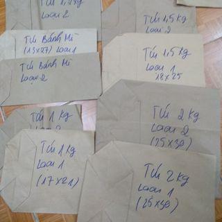 Túi giấy xi măng các loại giá sỉ