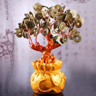Cây Tài Lộc Đồng Tiền Xu Chiêu Tài 185cm giá sỉ