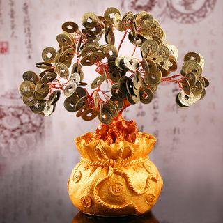 Cây Tài Lộc Tiền Xu Chiêu Tài 215cm giá sỉ