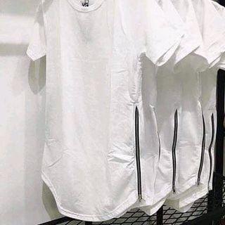 Áo thun nam zipper cotton giá sỉ