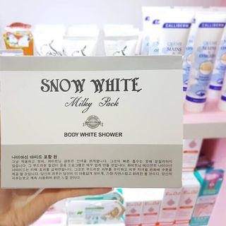 Tắm trắng Snow White Milky Pack Body White Shower giá sỉ