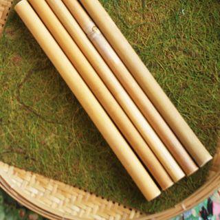 Ống hút cỏ sậy khô size Trà Sữa - Grass Straws giá sỉ
