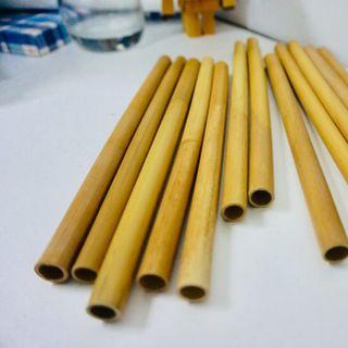 Ống hút cỏ sậy khô size coffee - Grass Straws size coffee giá sỉ