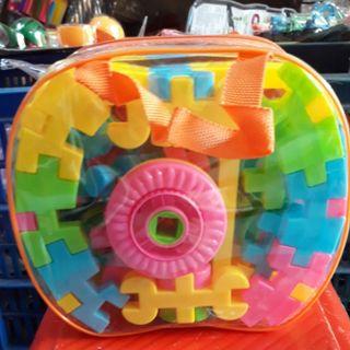 Đồ chơi trẻ em túi lắp ráp hình chìa khóa giá sỉ