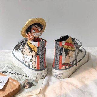 Giày vẽ one piece giá sỉ