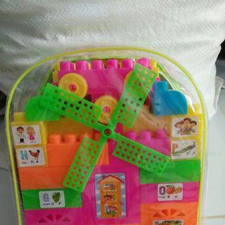 Đồ chơi trẻ em túi ráp 45 khối giá sỉ