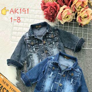 Áo khoác jeans bé gái giá sỉ tphcm giá sỉ