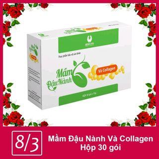 mầm đậu nành collagen giá sỉ