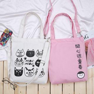 Túi tote mèo và chữ giá sỉ