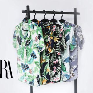 Áo sơmi cổ vest hoạ tiết 3D giá sỉ