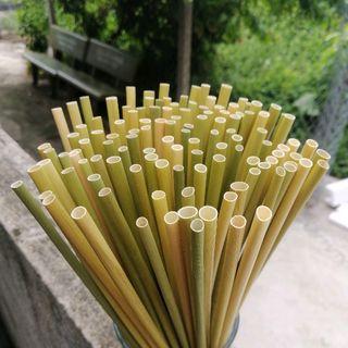Ống Hút Cỏ Bàng Khô - Grass Straw giá sỉ