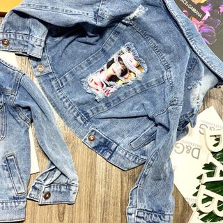 Áo khoác jean cho bé gái giá sỉ tphcm giá sỉ