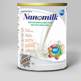 Sữa bột canxi nano cho người lớn tuổi giá sỉ