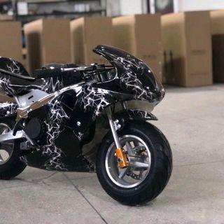 Moto mini 49cc có đèn đề giá sỉ