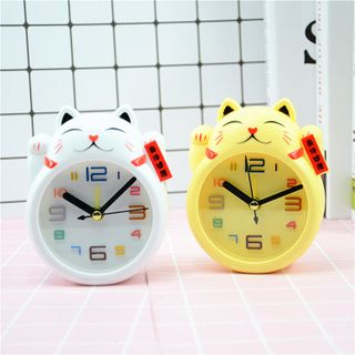Đồng hồ để bàn hình mèo giá sỉ