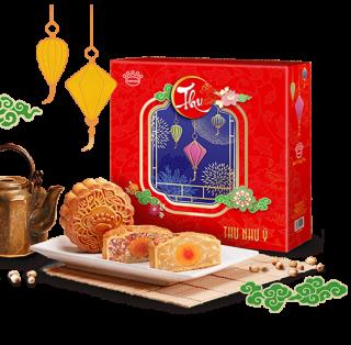 Phú Quý Niên Trường Thọ - Bánh Trung thu Kinh đô hộp 4 bánh giá sỉ