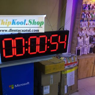 Đồng hồ treo tường led Đếm ngược Bấm giây thể thao KT 30 x 90 x 5 cm giá sỉ