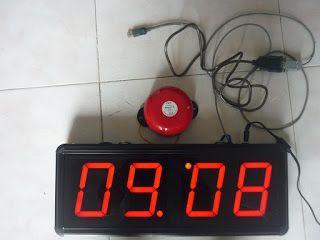 Đồng hồ treo tường điện tử chuông báo tiết học giá sỉ