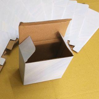 Hộp carton trắng 10x5x10cm giá sỉ