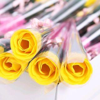 Hoa hồng sáp thơm nguyên cây có nhiều màu giá sỉ