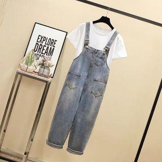 Yếm Jean dài Bigsize giá sỉ