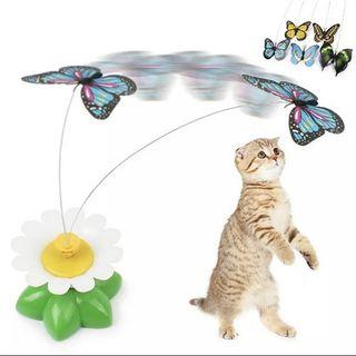 Đồ chơi chó mèo vờn bướm chạy bằng điện giá sỉ