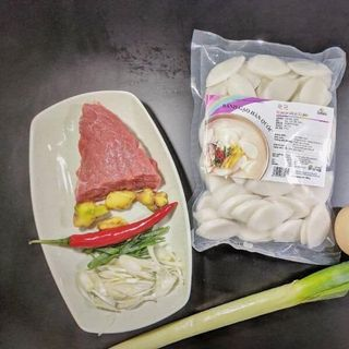 Bánh gạo Hàn Quốc topokki dạng lát giá sỉ