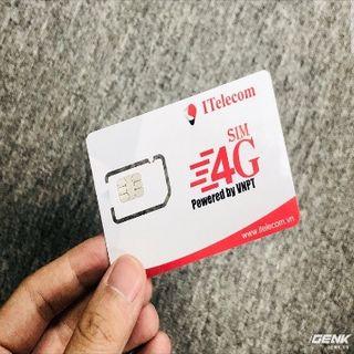 sim Vinaphone telecom 4g 90Gb/tháng giá sỉ