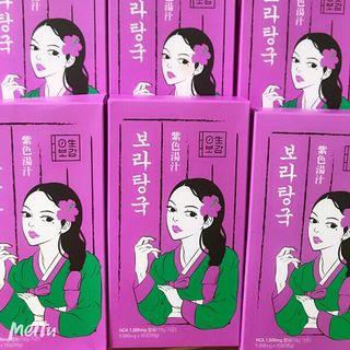 trà giảm cân Bora Korea giá sỉ