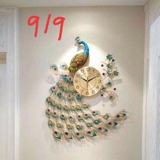 Đồng hồ treo tường chim công giá sỉ