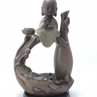 Thác Khói Trầm Hương Phật ngồi trên sóng - bbl01 giá sỉ