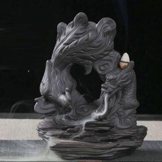 Thác khói trầm hương rồng phượng nhả khói - bbl01 giá sỉ