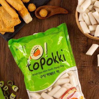 Bánh gạo Topokki dạng ống giá sỉ