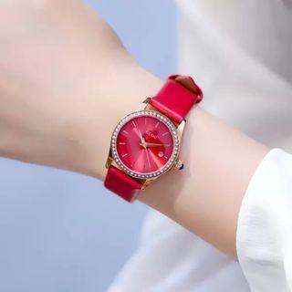 Đồng hồ nữ GUOU 6012L có lịch giá sỉ