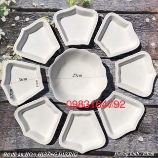 Bộ đĩa mặt trời bộ đĩa hoa hướng dương giá sỉ