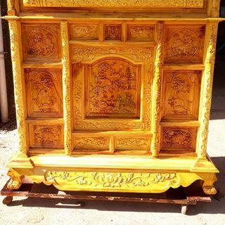 tủ thờ gỗ mít giá sỉ