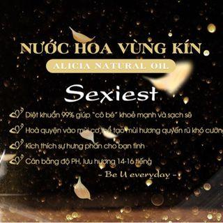 Nước Hoa Vùng Kín Cao Cấp Độc Quyền Alicia Sexiest 5ml giá sỉ