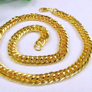 dây chuyền xi vàng vòng cổ giá sỉ