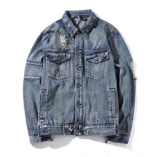 Áo khoác jean Unisex phong cách thời trang chuyên sỉ jean 2KJean giá sỉ